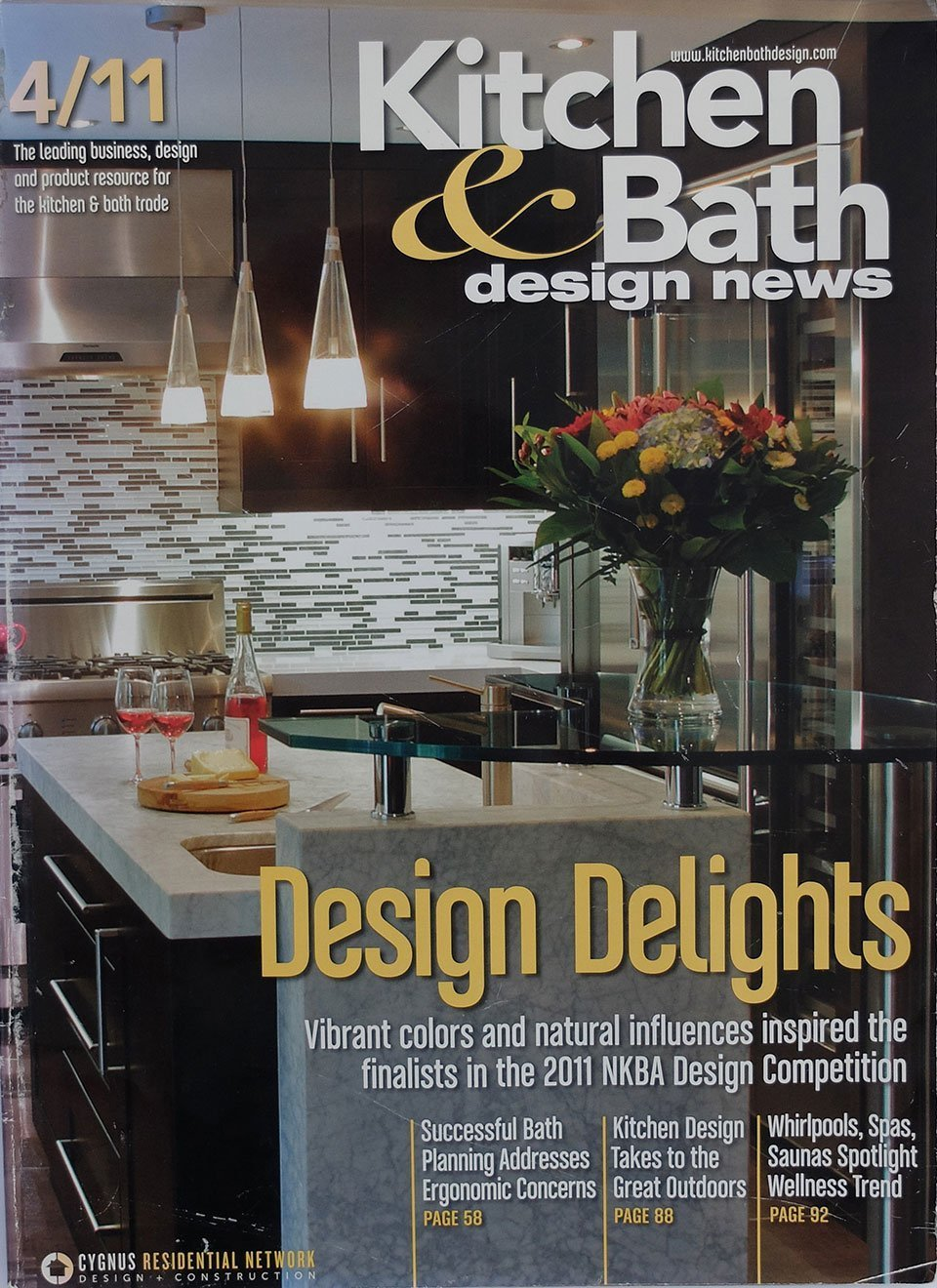 2011 Kitchen & Bath Design News magazine