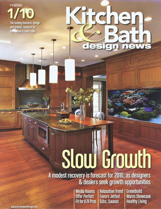 Spacious Kitchen Receives Aquatic Makeover – Rebecca ...