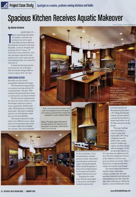 2010 Kitchen & Bath Design News magazine inside