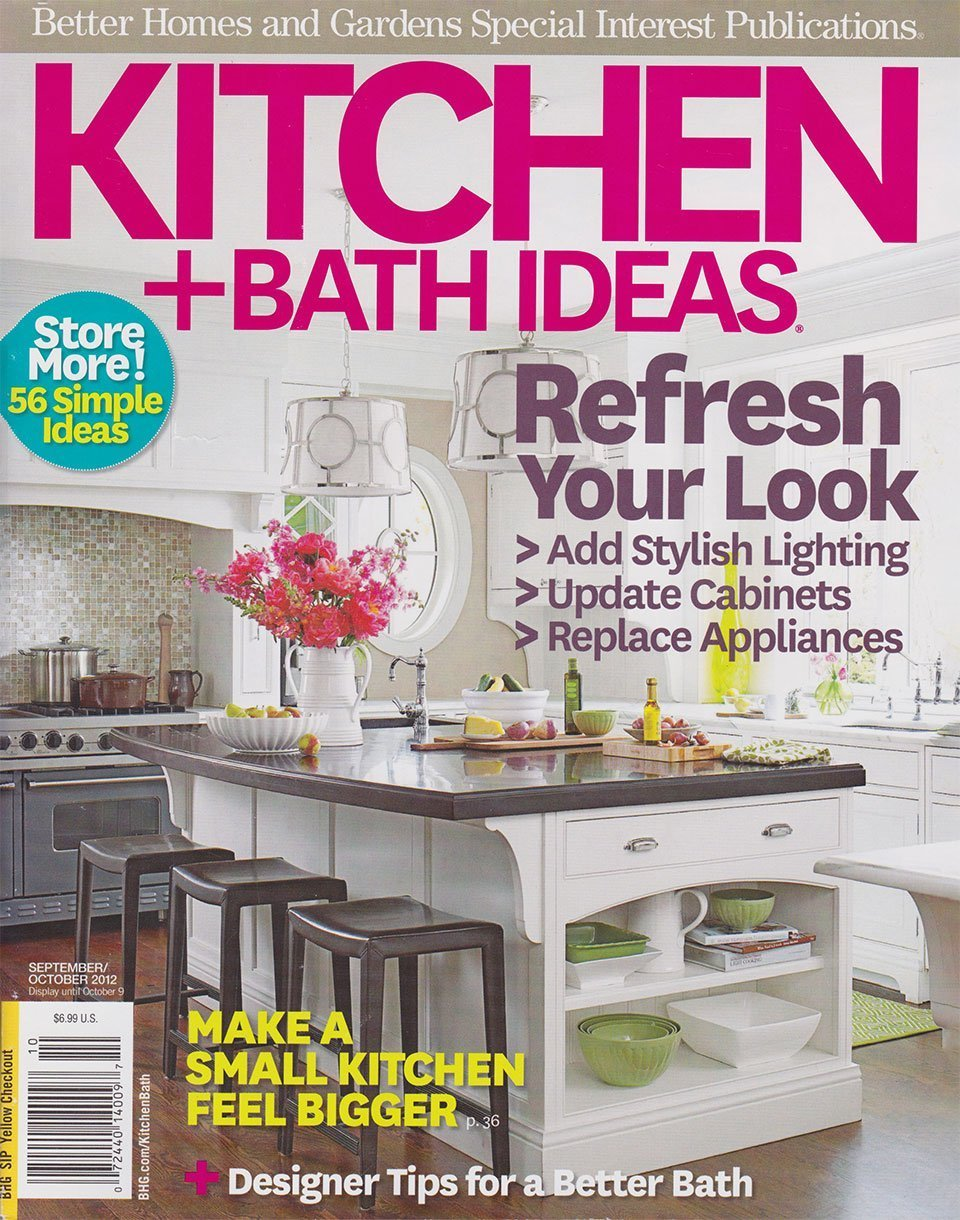 2012 Kitchen & Bath Ideas magazine cover