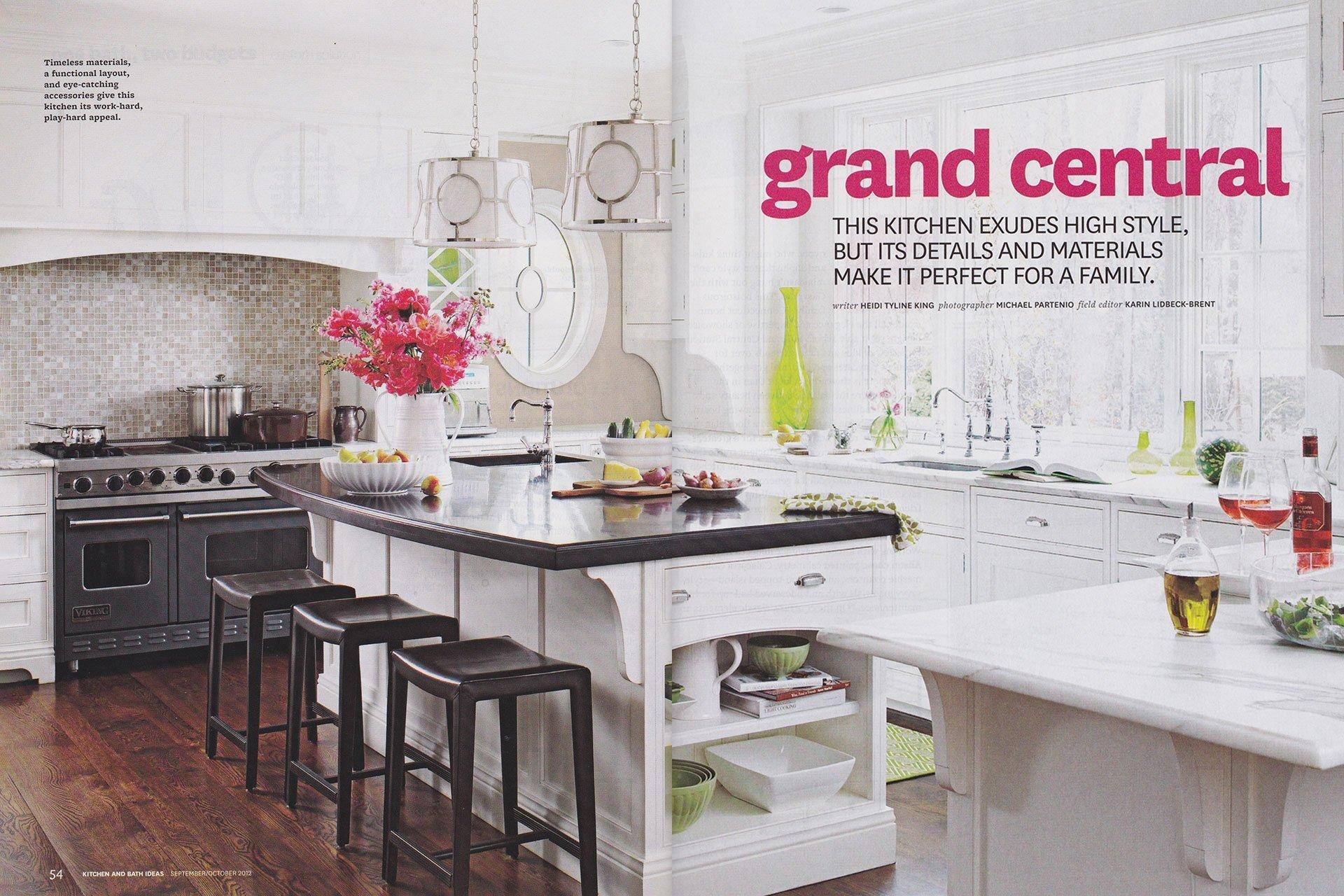 2012 Kitchen & Bath Ideas: Grand Central – Rebecca Reynolds Design