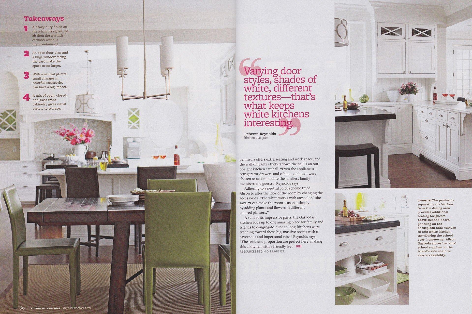 2012 Kitchen & Bath Ideas magazine inside
