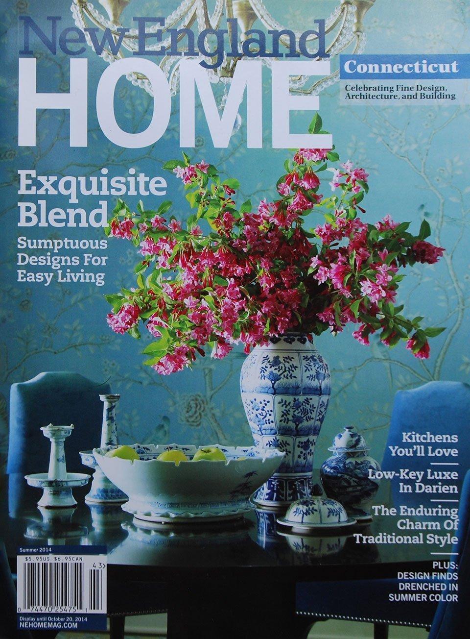 2014 New England Home cover