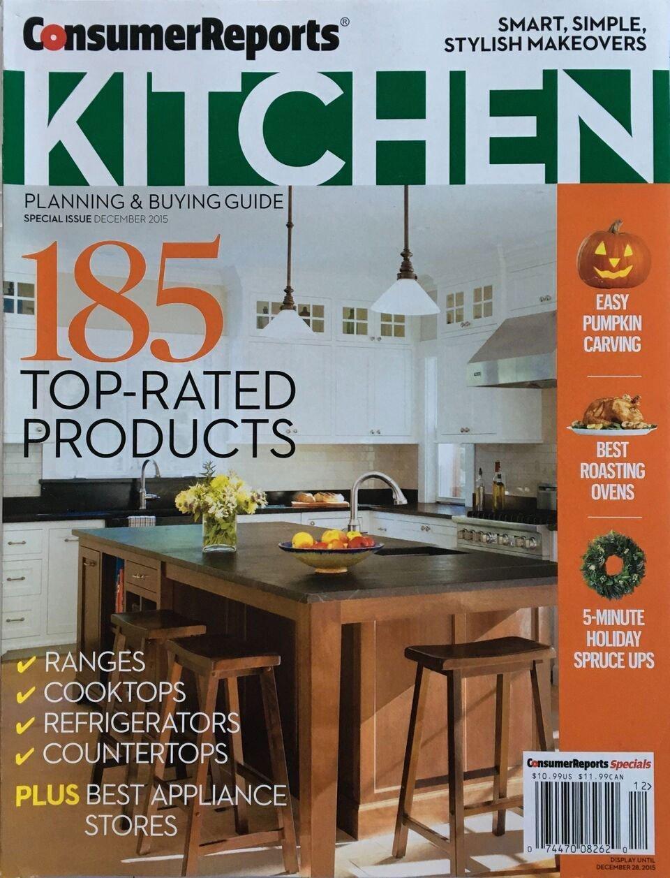 2015 Consumer Reports magazine cover