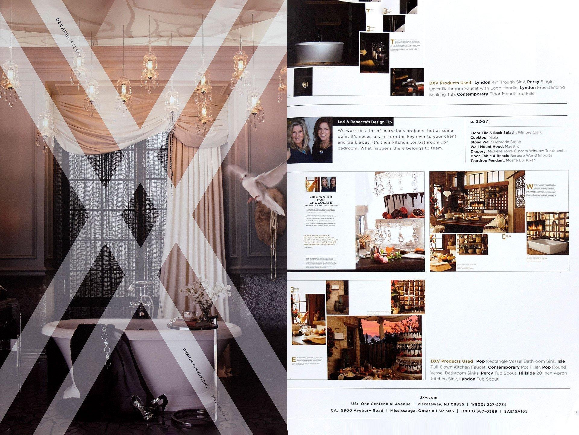 2015 DXV Designer Vignettes inside