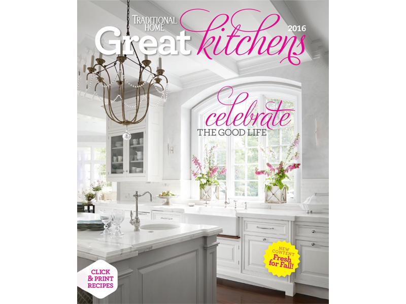 2016 TH Great Kitchen magazine cover