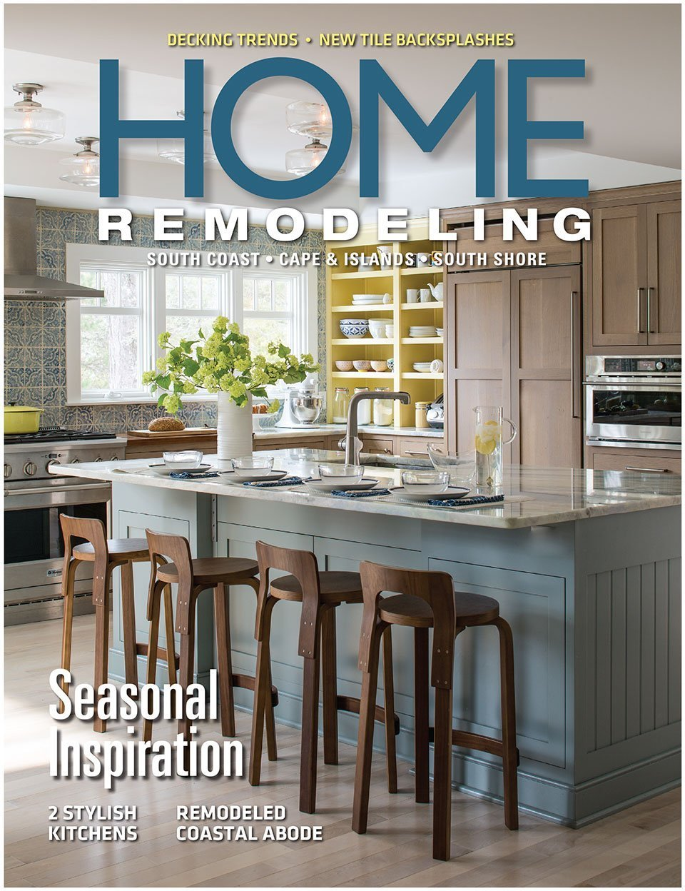 2017 Home Remodeling magazine cover