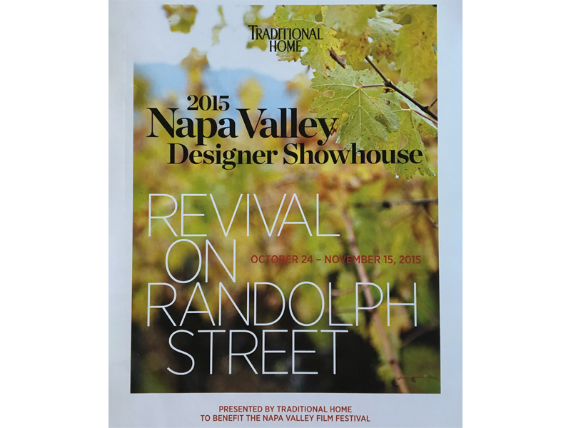 2015 Traditional Home: Napa Valley Design Showhouse