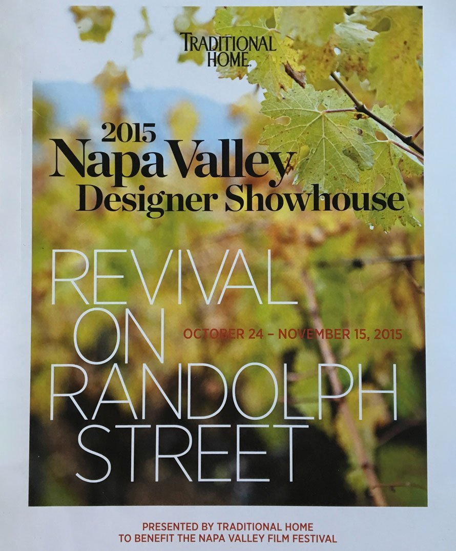 2015 Traditional Home: Napa Valley Design Showhouse cover