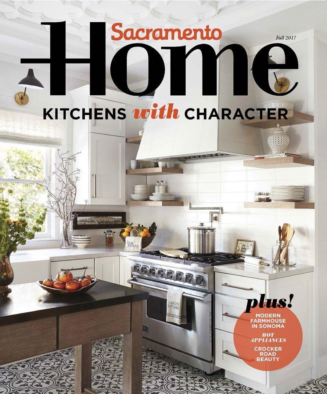 2017 Sacramento Home magazine cover