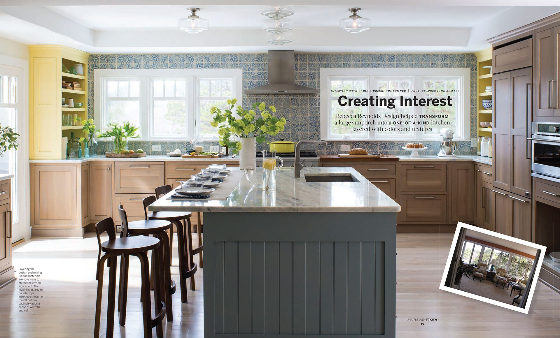 Renovate atHOME Edition: Creating Interest